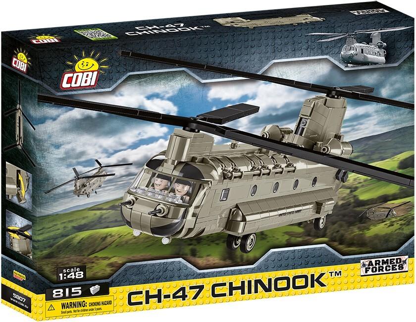 COBI #5807 CH-47 チヌーク (Chinook) 1/48 scale