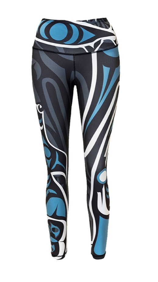 Wolf Teal Legging