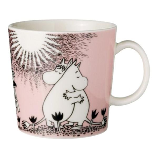 Moomin マグカップ300ml ピンク