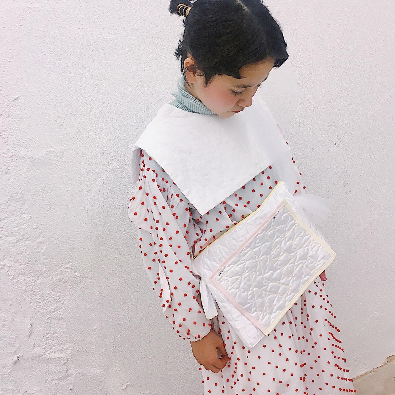 arere / 『スキ』肩掛けBAG - WHITE*WHITE