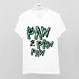OKCAT Tシャツ(PAW PAW PAW)