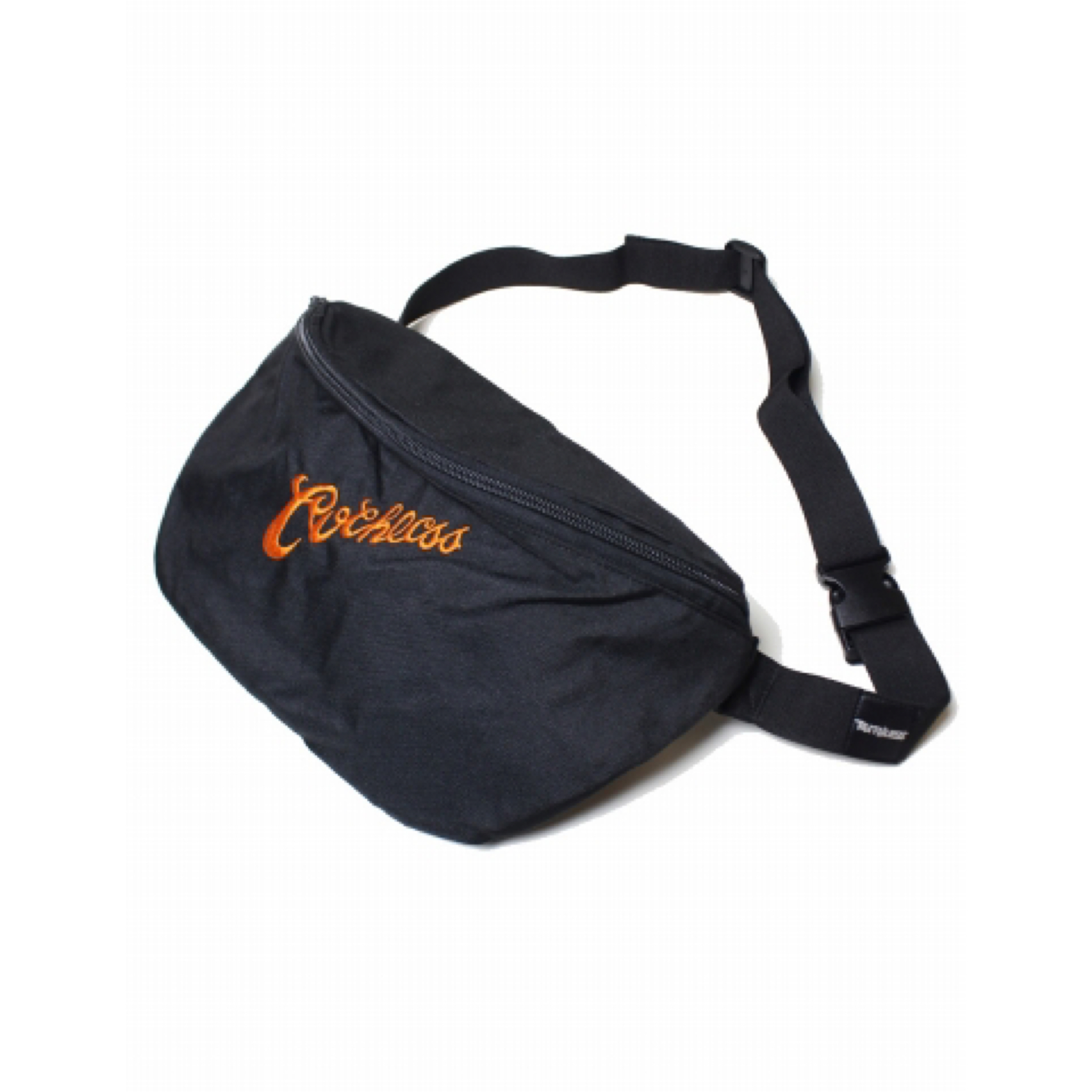 RUTHLESS #Logo Body Bag Black