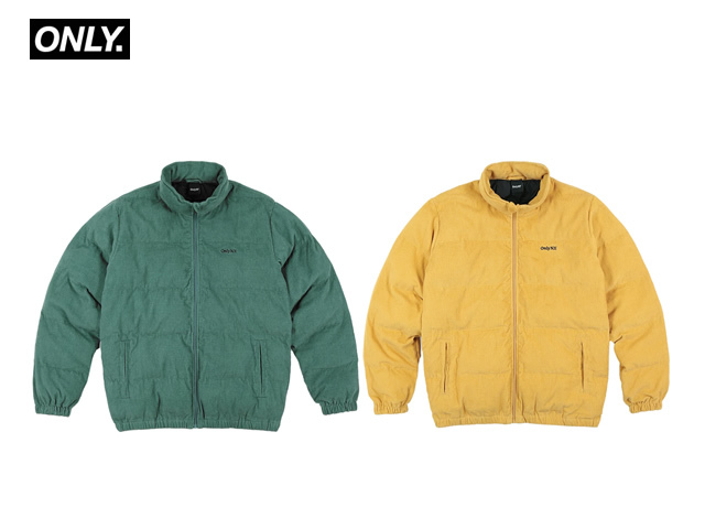 ONLY NY|Corduroy Puffer Jacket