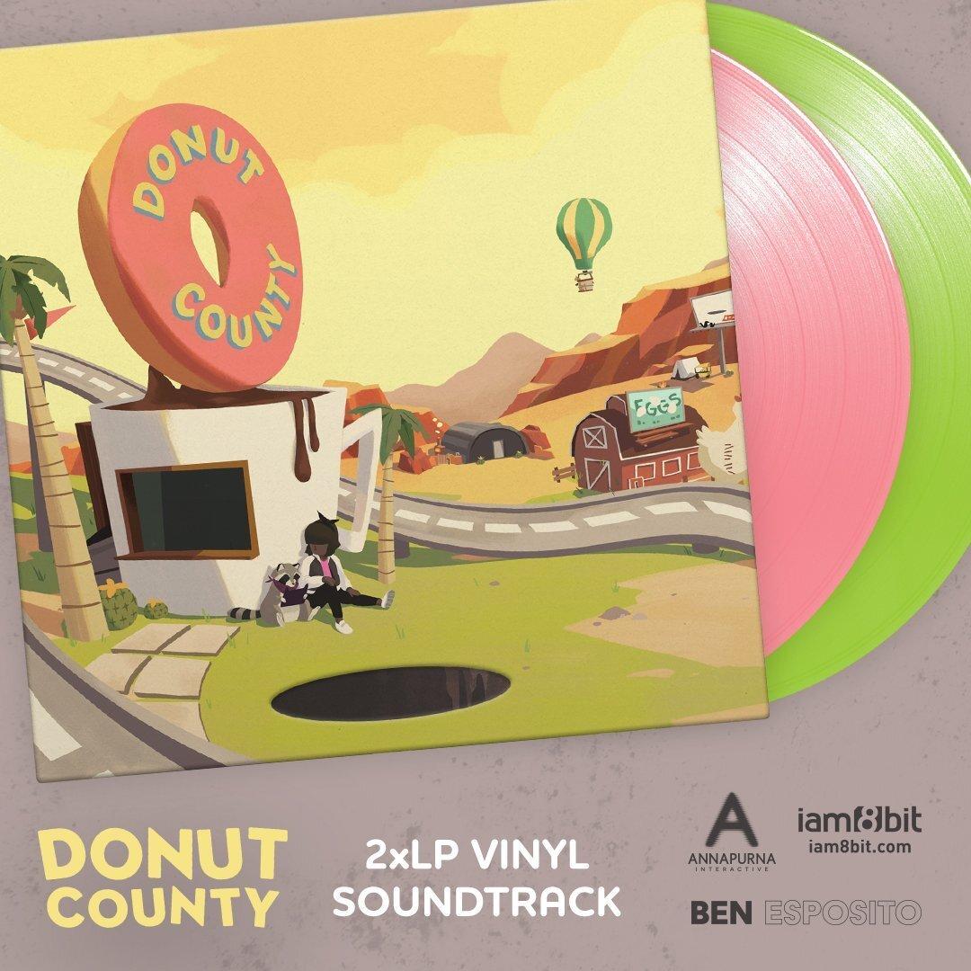 DONUT COUNTY VINYL SOUNDTRACK【アナログレコード】/ iam8bit
