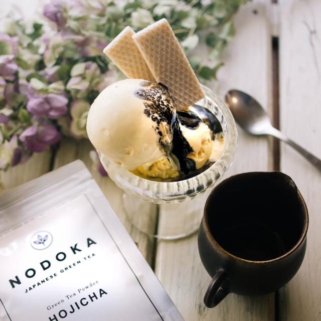 飲み物にも、料理にも使えるオーガニック日本茶。NODOKAほうじ茶パウダー
