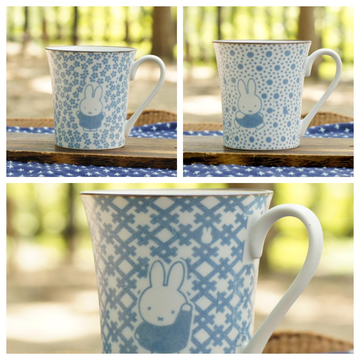 ミッフィー 美濃焼和小紋  マグカップ