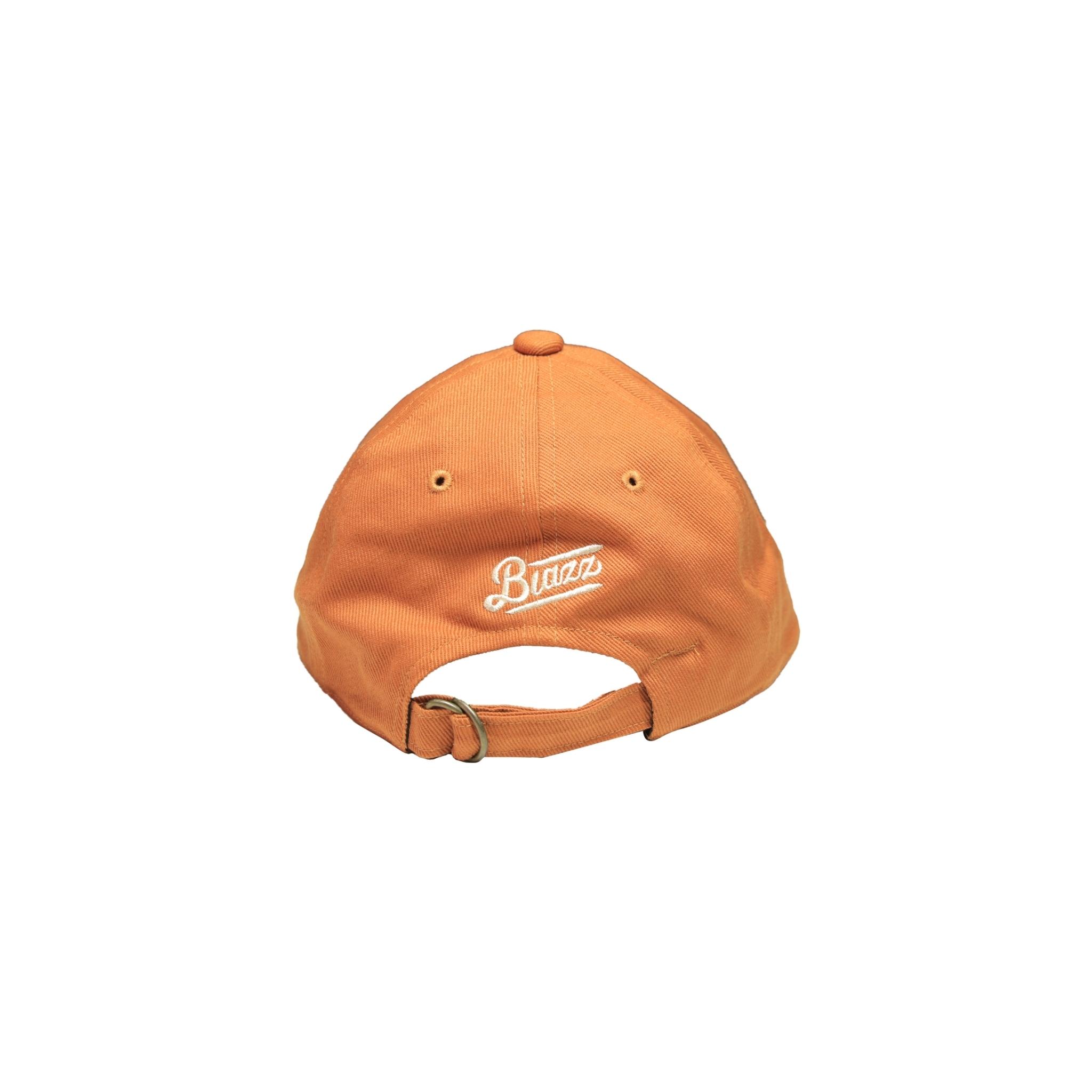 LONG BILL CAP [BRICK BROWN]