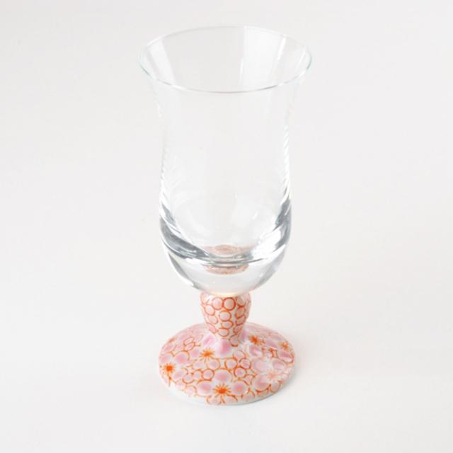 九谷和グラス(冷酒グラス) 梅詰