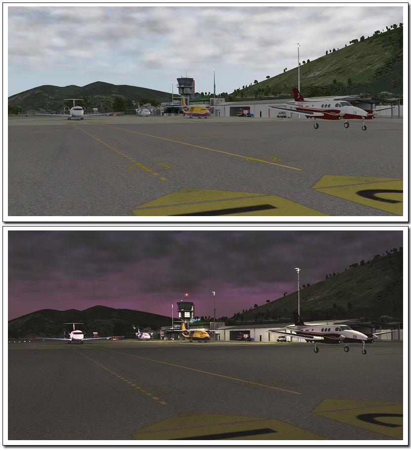 Xプレイン10拡張パック ルガーノ空港