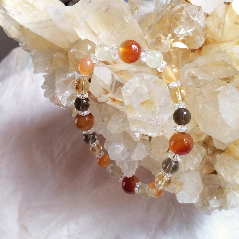 Gabriel ガブリエル gemstone bracelet