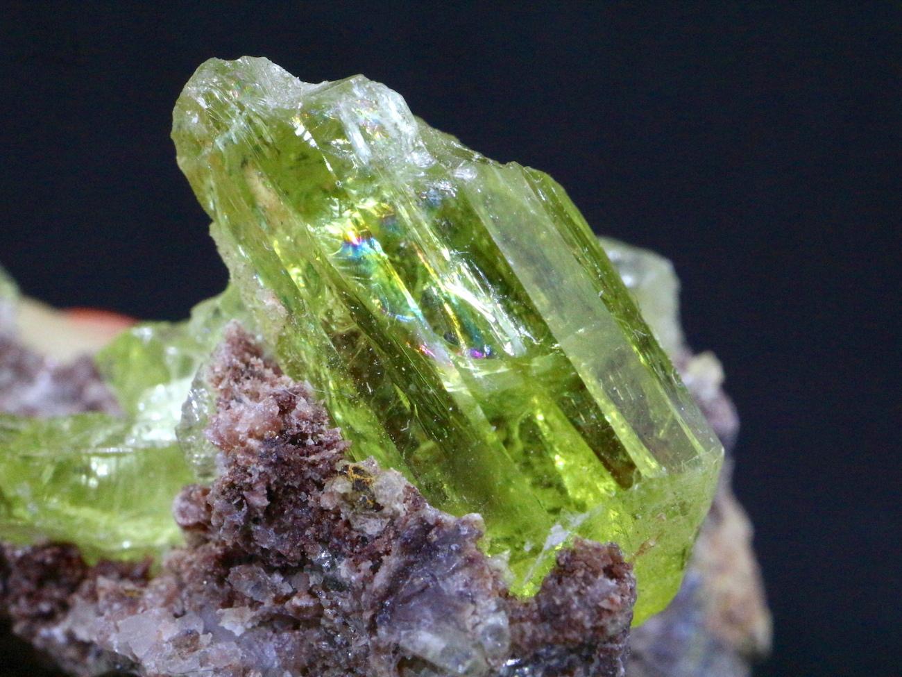 メキシコ産 アパタイト 母岩付き  Apatite 32,7g AP019