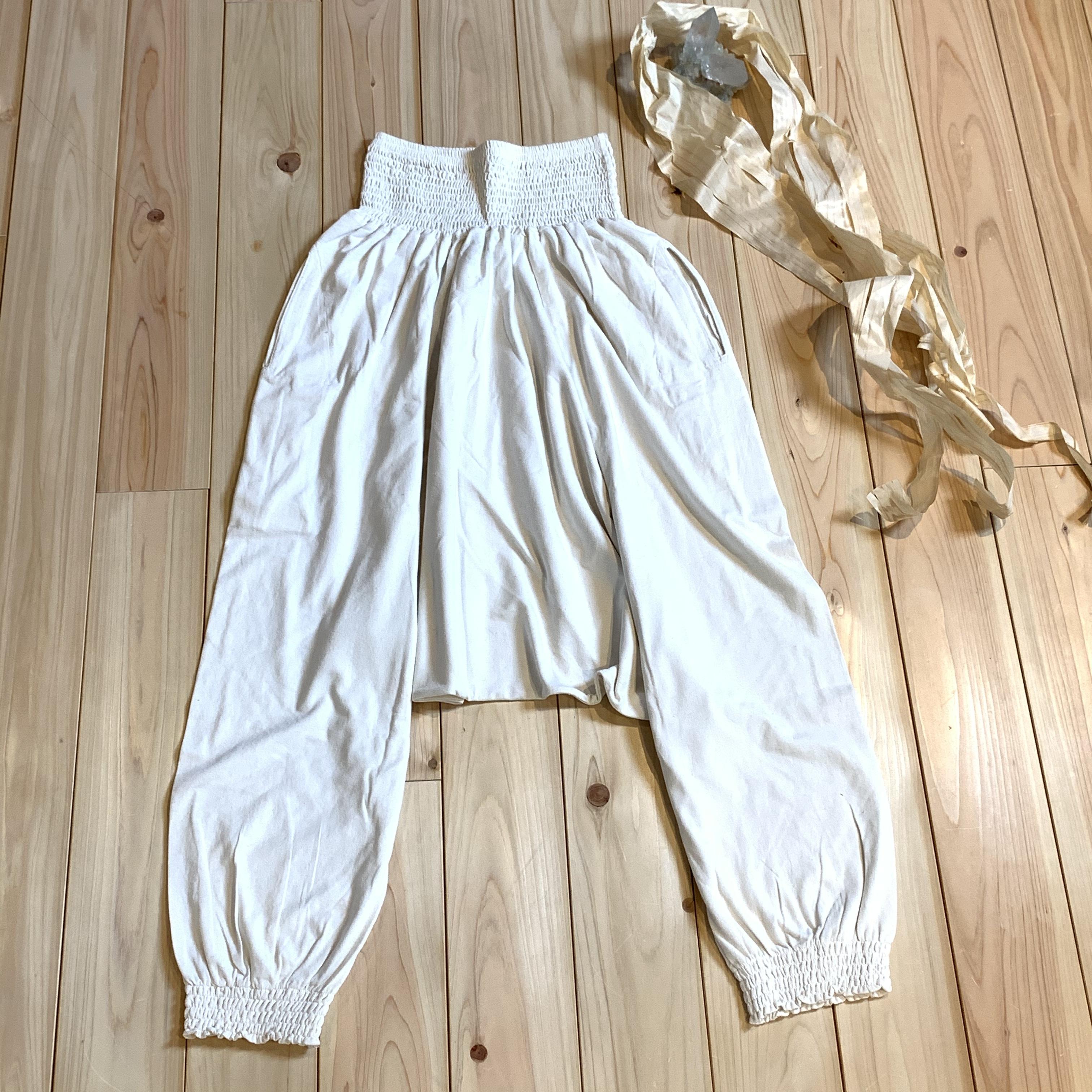 【先行販売価格】∞Momonga pants∞ Hemp/Cotton