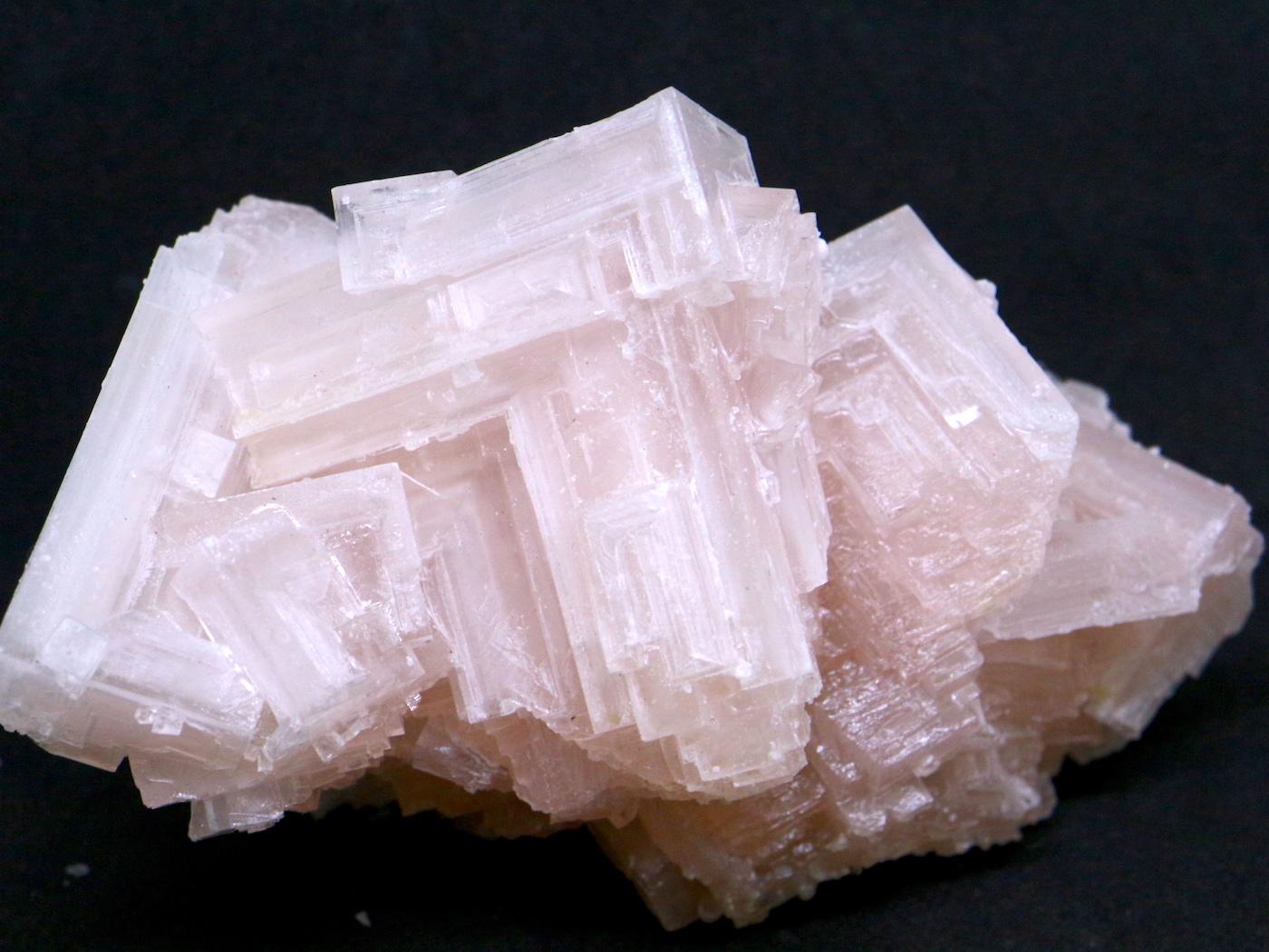 採れたて!ピンクハーライト カリフォルニア産 163,6 岩塩 PH054
