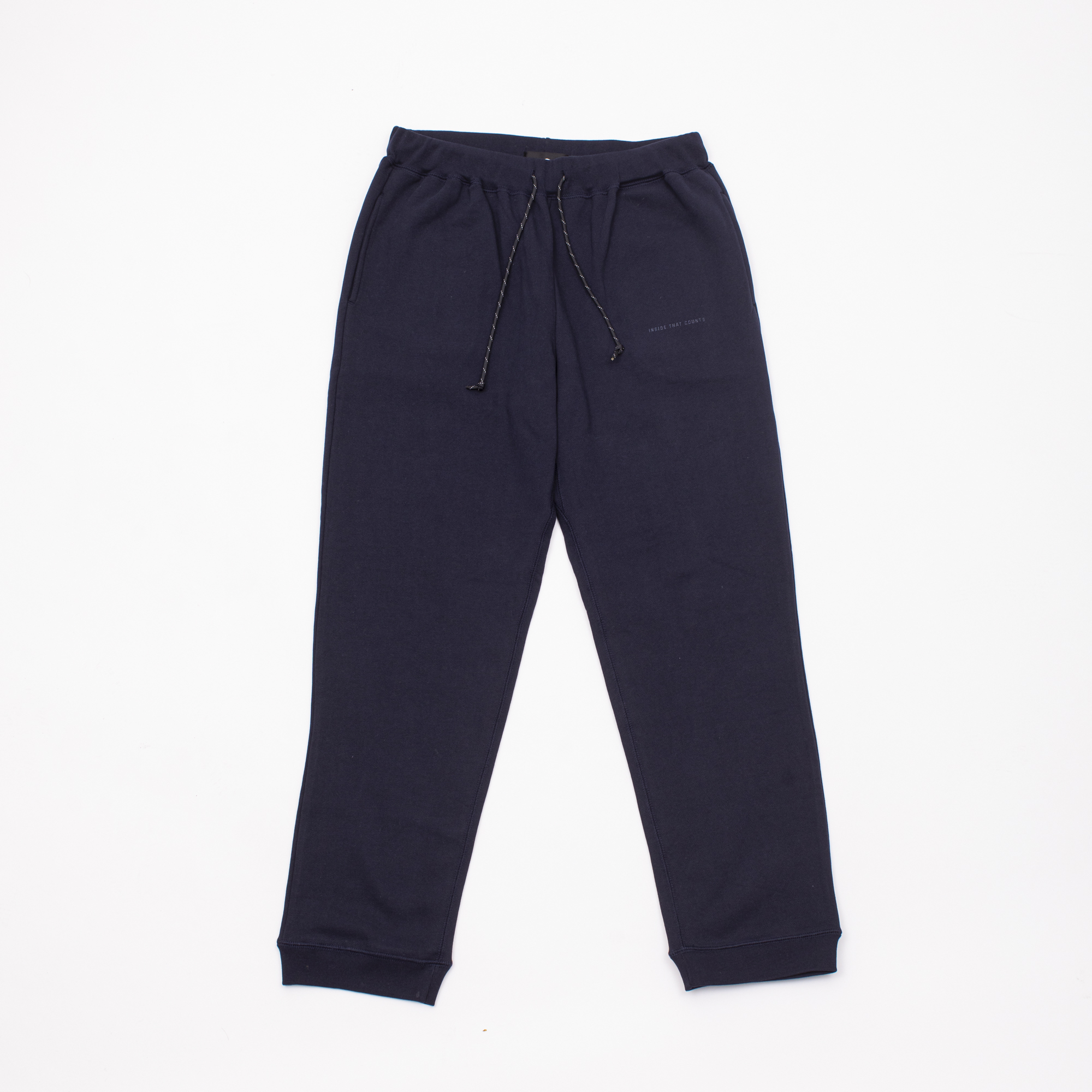 CRATE BOX PATCH SWEAT PANTS NAVY
