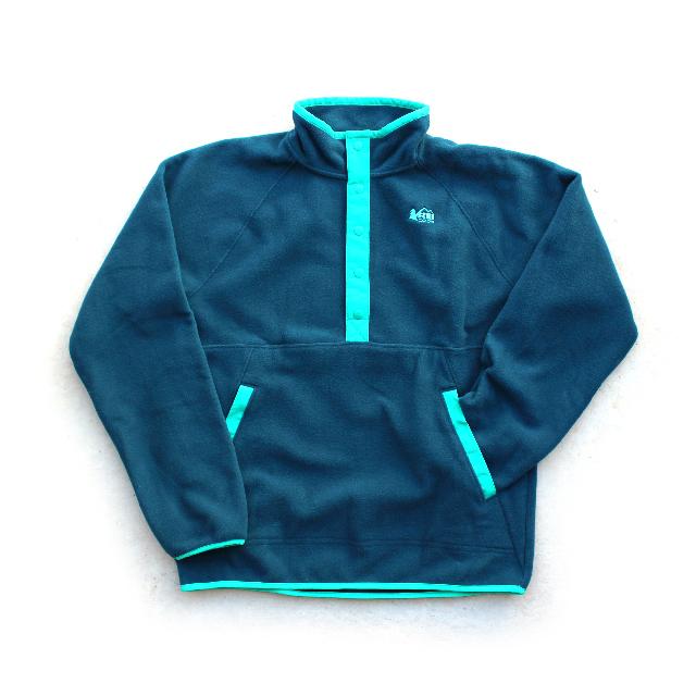 REI Pullover Half-Button Fleece