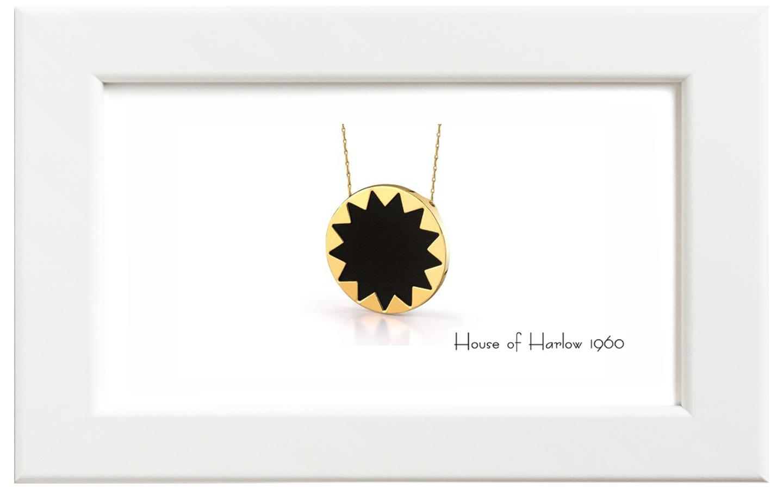 House of Harlow1960/ハウス・オブ・ハーロウ1960 Sunburst Pendant ネックレス
