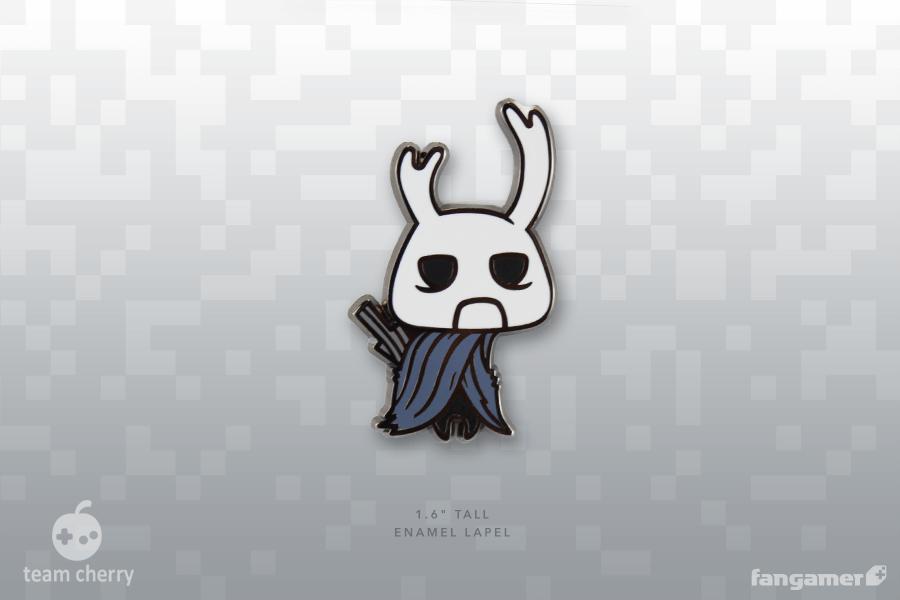 強靭なるゾート ピンバッジ / Hollow Knight