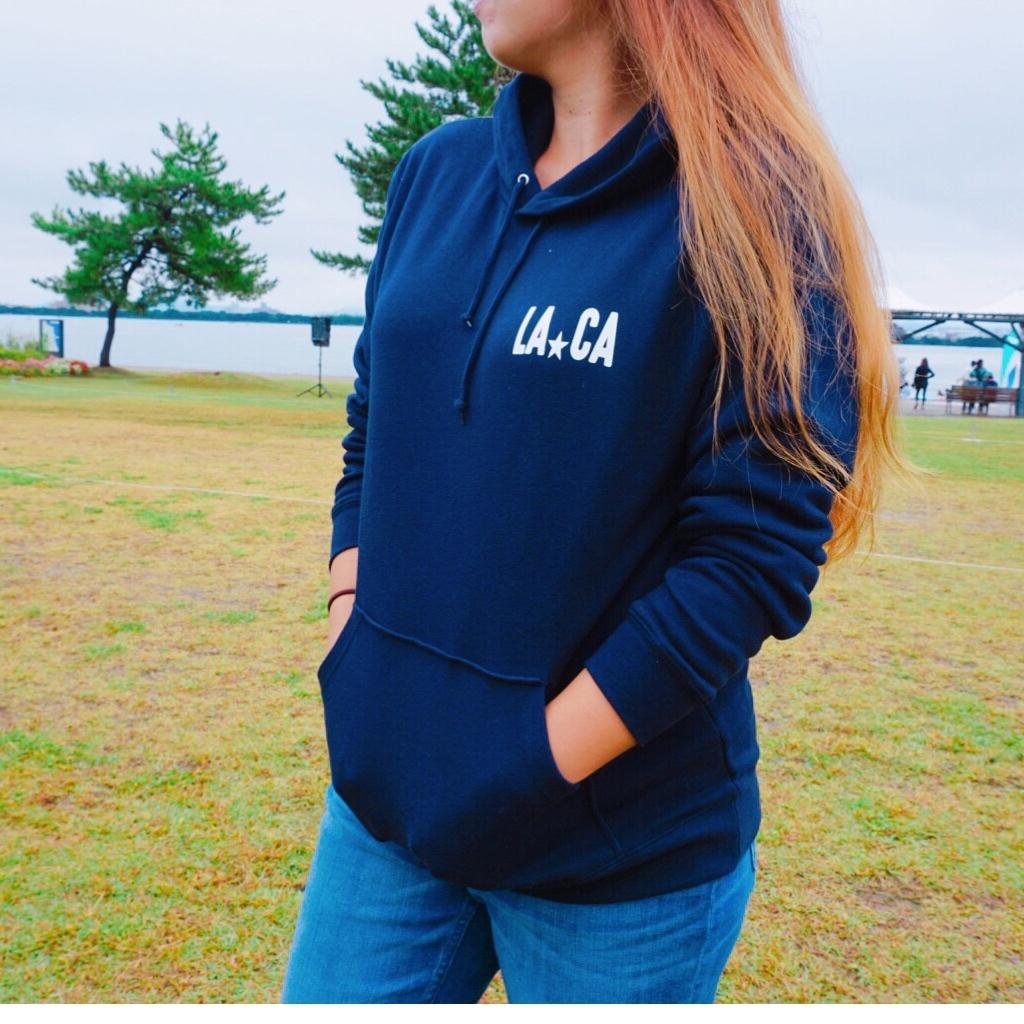LACA  hoodie - Navy