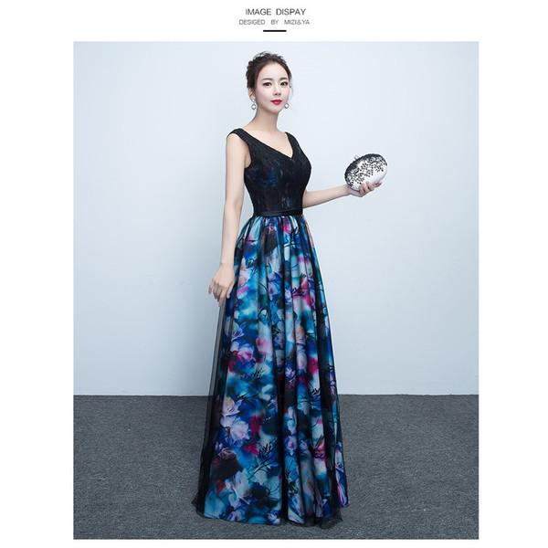 2c5fe262955fd ロングドレス 花柄 演奏会 パーティードレス 結婚式 ドレス ウェディングドレス パーティドレス お呼ばれ ピアノ 発表会 フォーマル ドレス 二次会  ドレスmzy015