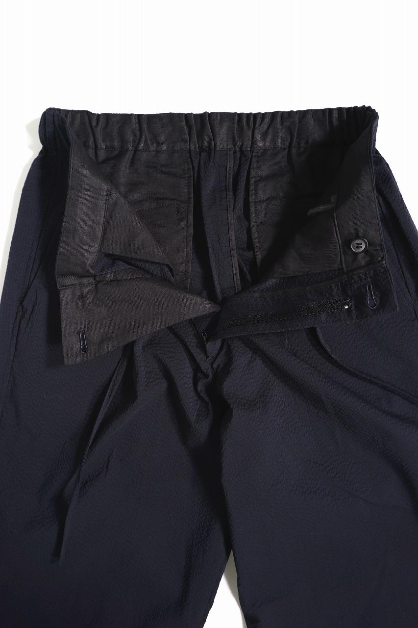 Cool Seersucker Easy Trousers