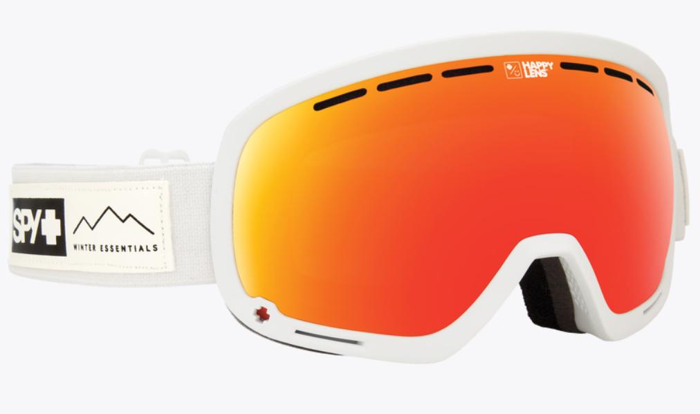 PY Marshall Snow Goggle スパイ マーシャル アジアンフィット ゴーグル スキー スノーボード WHITE ホワイト 白 ミラーレンズ