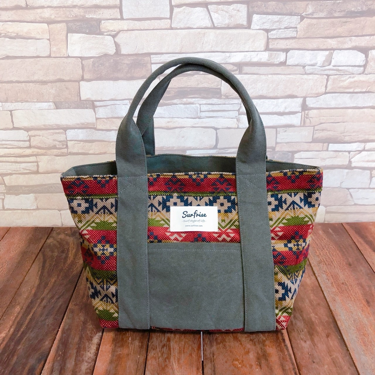 Camp Tote bag S - DarkGreen