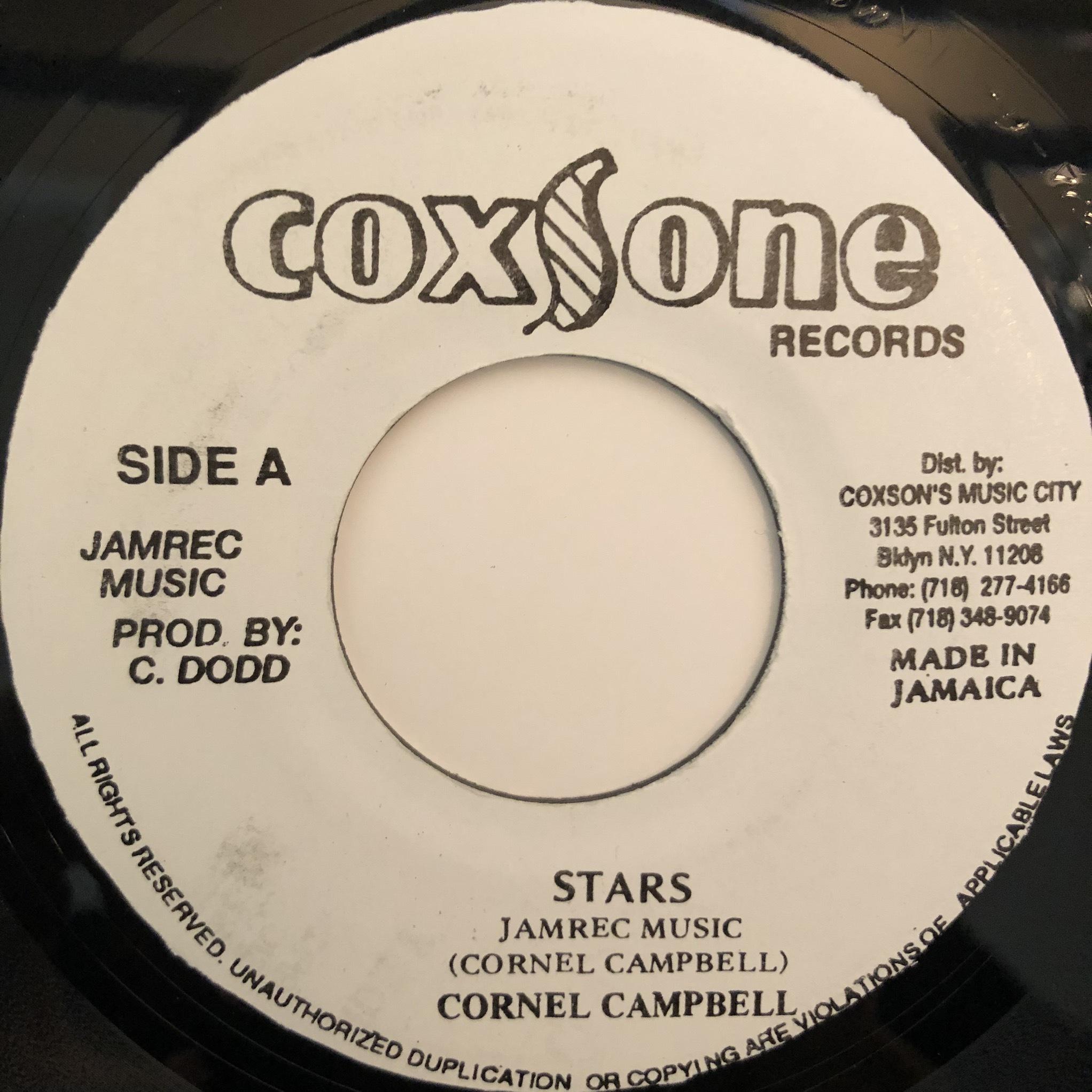 Cornell Campbell - Stars【7-20349】