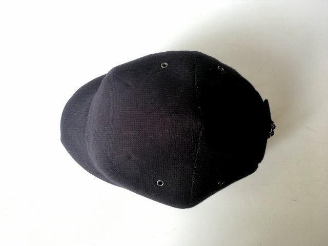 """hand-sewn "" LOKACAP|HONEYCOMB BLACK【M】"