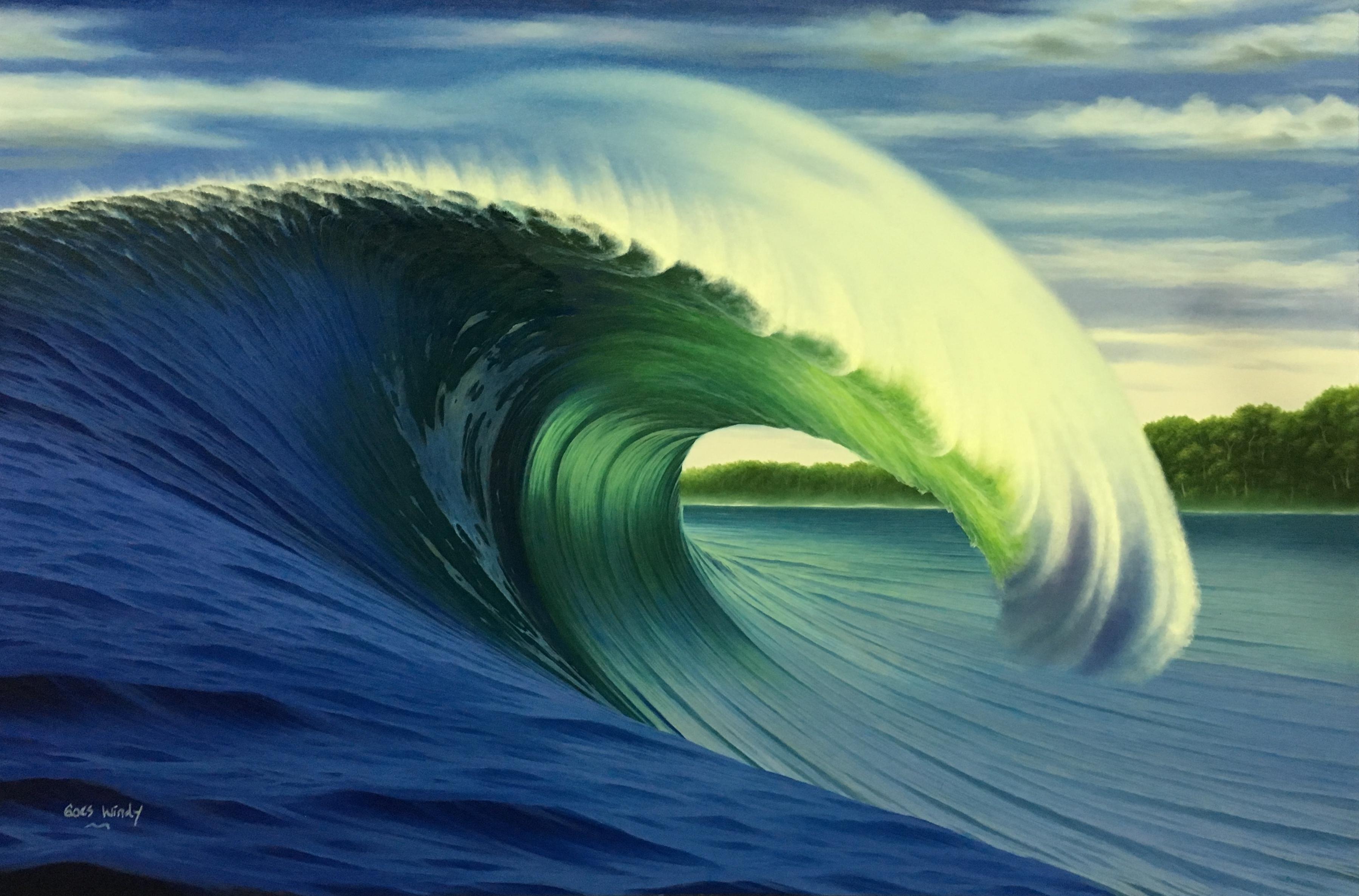 Dreamland Wave Art P80 特注サイズ