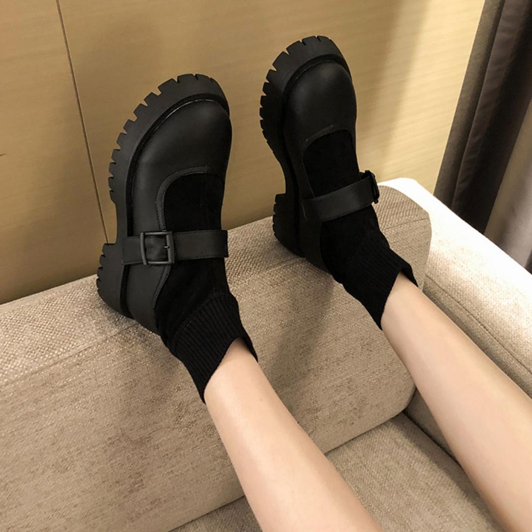 〈リクエストアイテム〉厚底マーティンブーツ【platform martin boots】