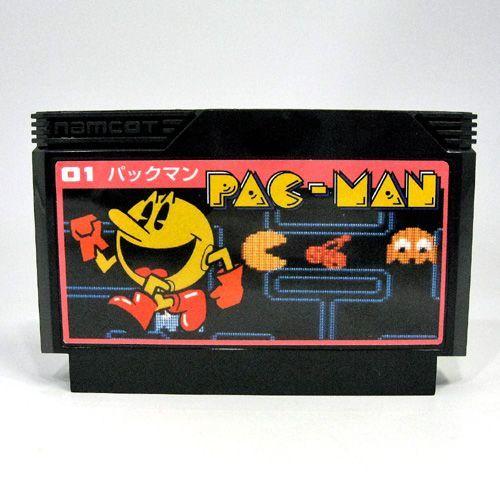 ファミコンカセット型 モバイルバッテリー (パックマン)