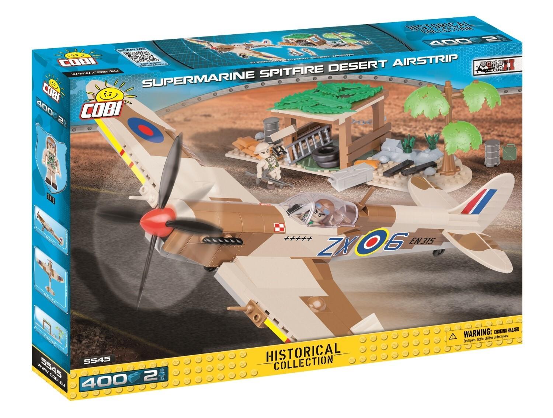 COBI #5545  Supermarine Spitfire Desert Set (RAF 1943チュニジア)
