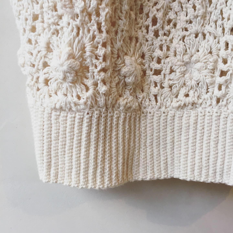 vintage crochet tops