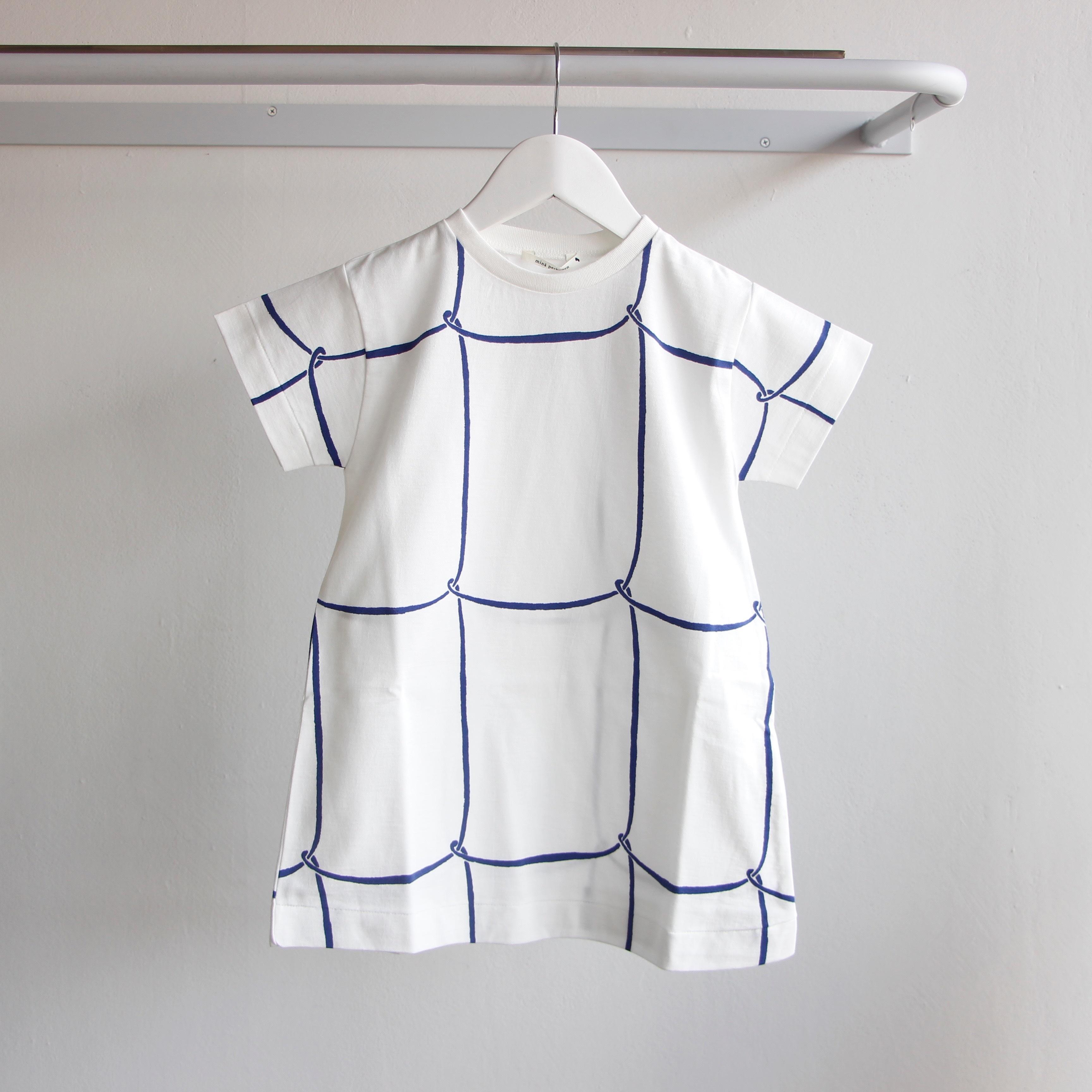 《mina perhonen 2018SS》ribbon frame ワンピース / white / 80-100cm