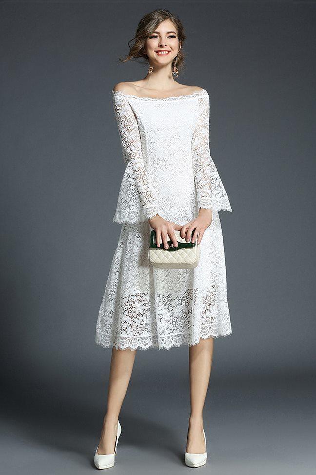 e7b8b559c8520 (zinya-x0082) オフショルダー ドレス 袖フリルワンピース 結婚式 お呼ばれドレス 20代 30代 40代 パーティードレス 大きいサイズ  親族 演奏会 キャバ