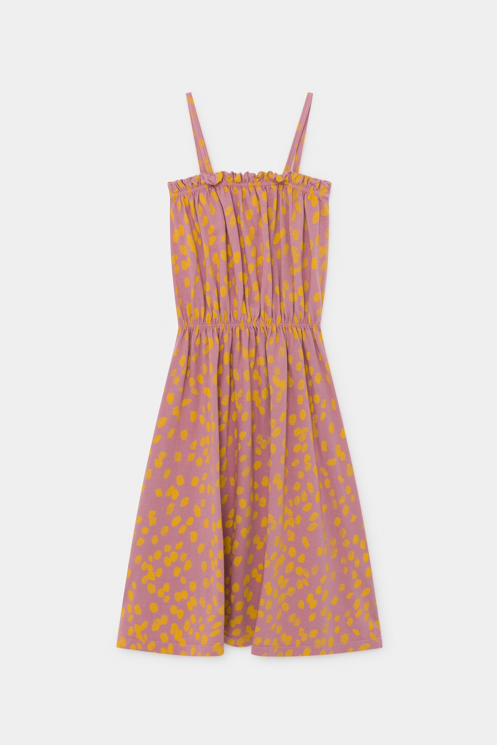 《BOBO CHOSES 2020SS》Animal Print Jersey Dress / 2-9Y