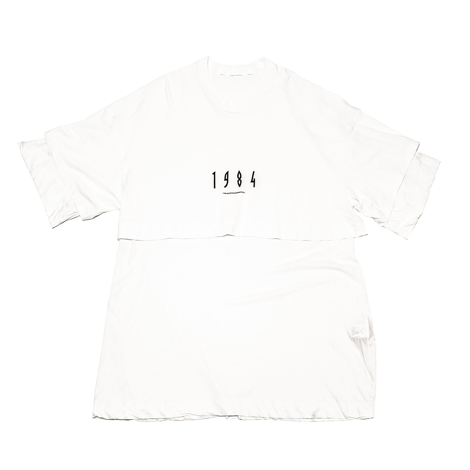 597CPM41-WHITE / レイヤードカットソー