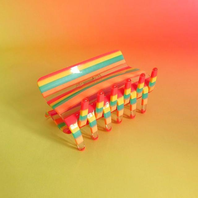 """Chunks """"Squared Claw"""" Candy Stripe"""