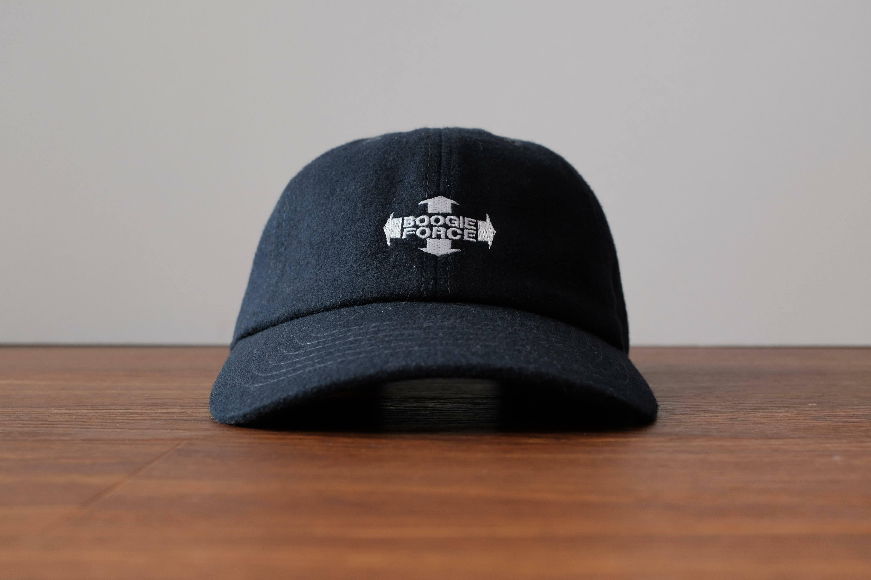 """SBW """"BOOGIE FORCE"""" Wool cap[Navy]"""