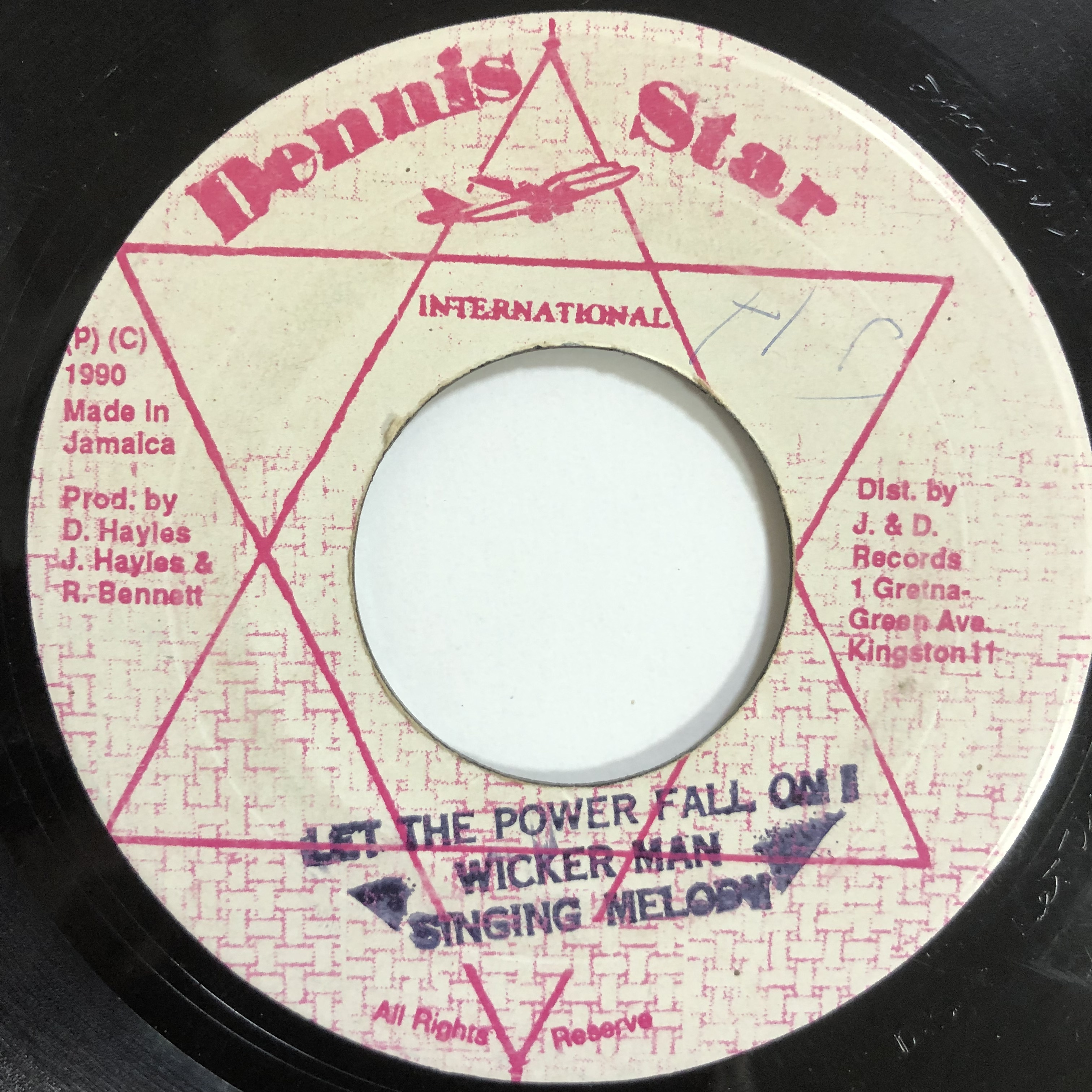 Wicker Man, Singing Melody – Let The Power Fall On I【7-20132】