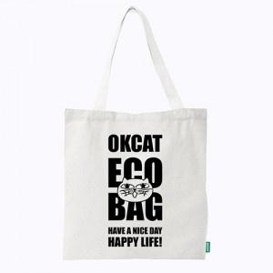 OKCAT ECO BAG HAPPY LIFE