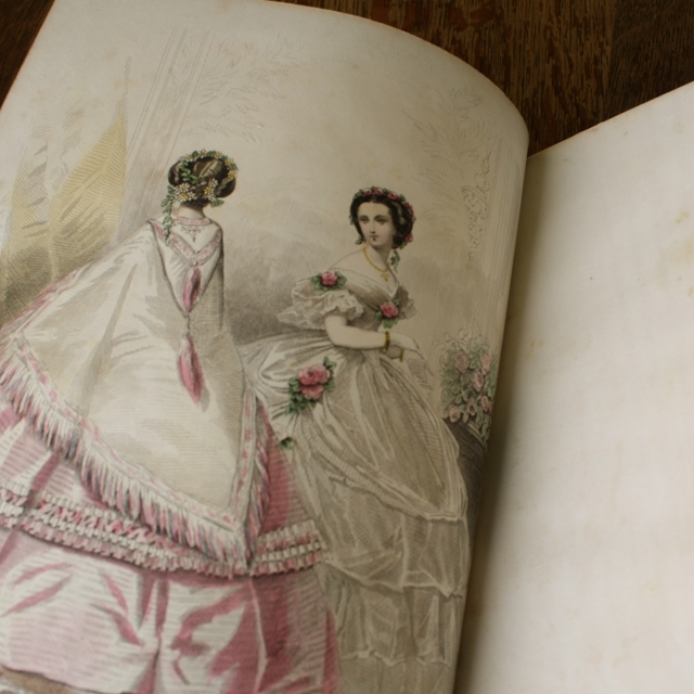 JOURNAL DES DEMOISELLES 1859 / vp0034