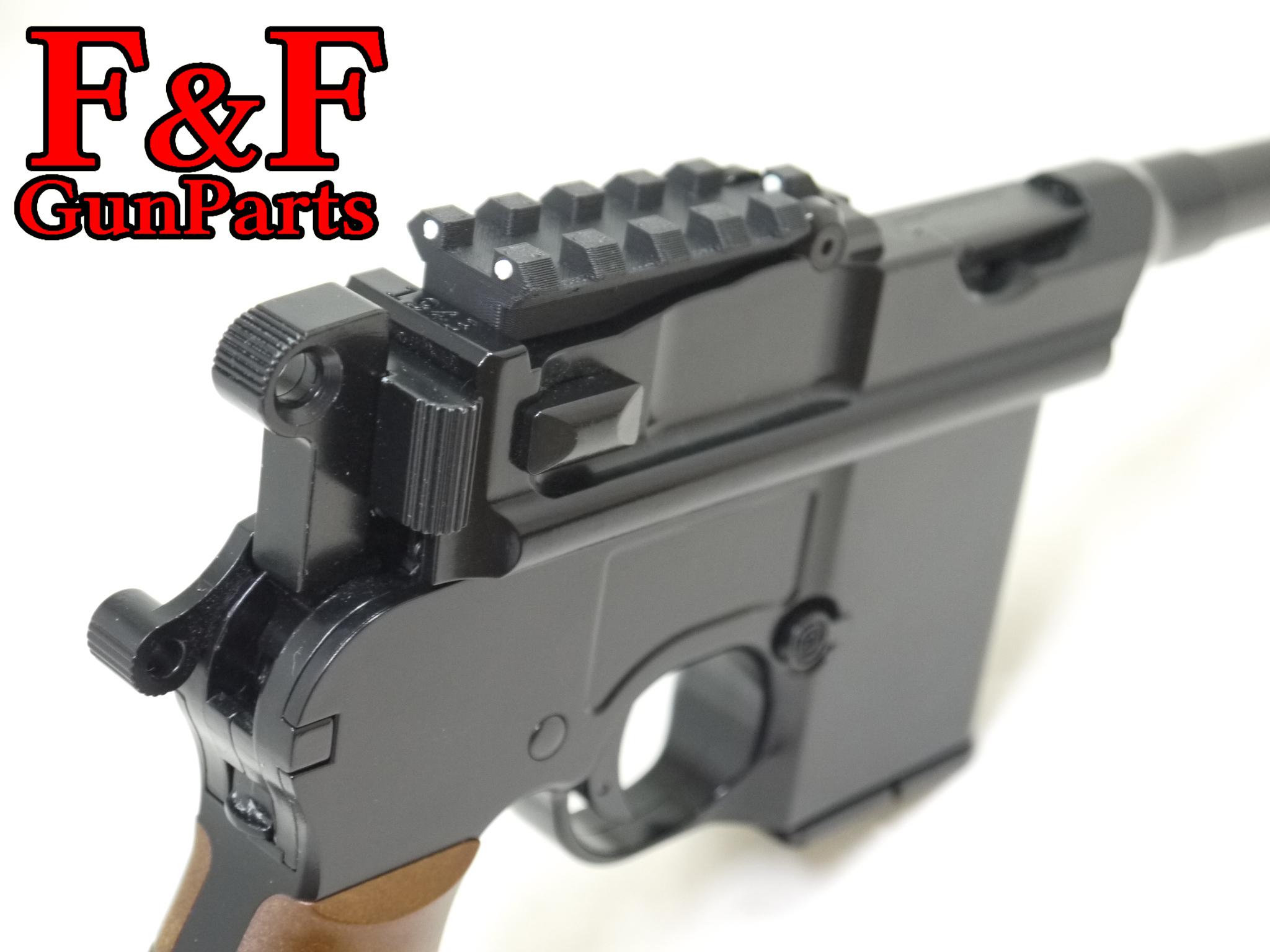 AW/WE M712対応 ナイトサイト付20mmレール | F&F GunParts powered by BASE