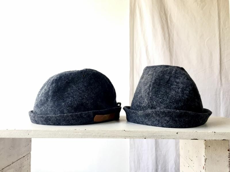 HELMA HAT | FLANNEL DENIM