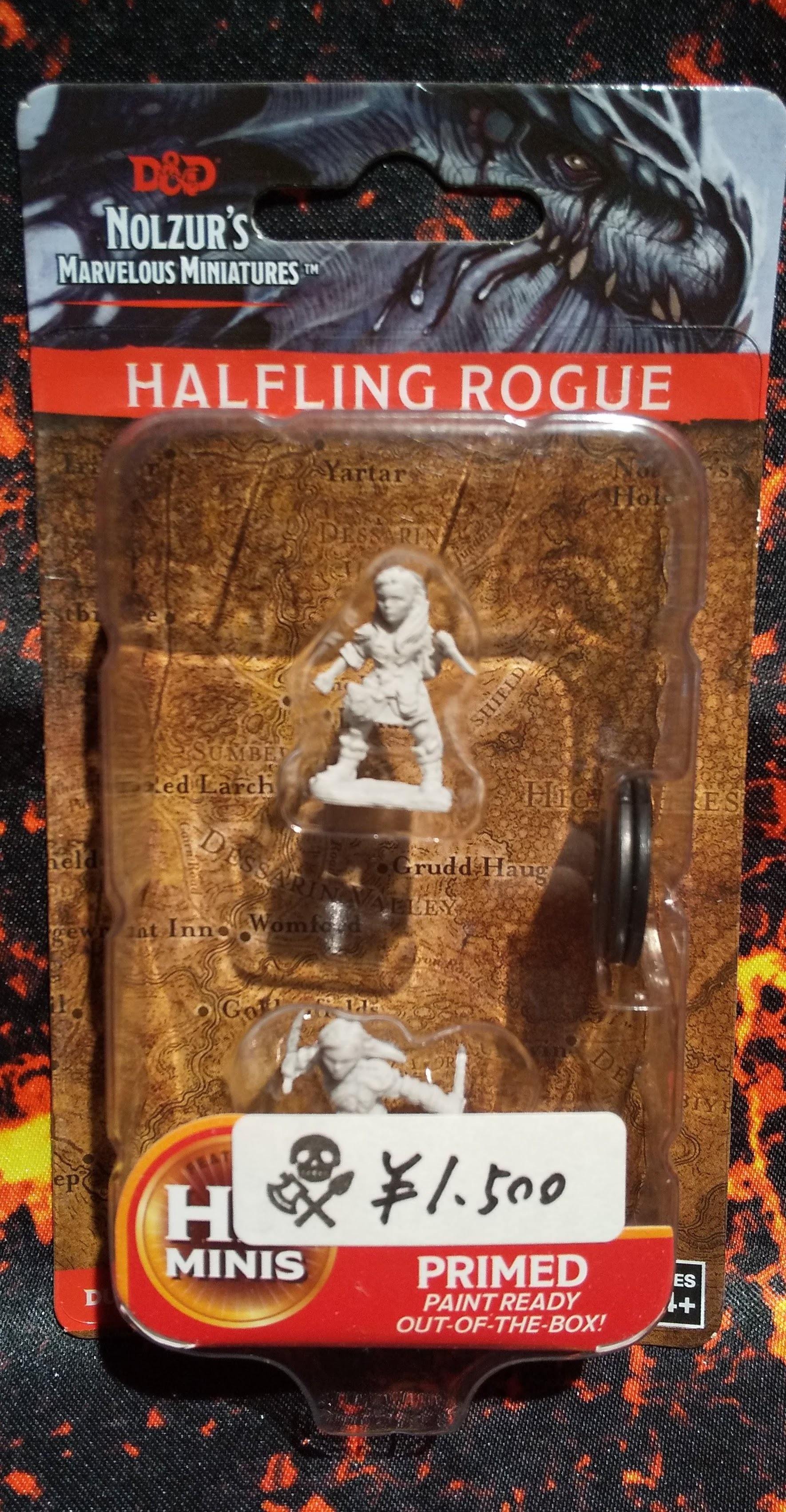 Halfling Female Rogue(D&Dオフィシャルミニチュア「Nolzur's Marvelous Unpainted Miniatures」シリーズ)
