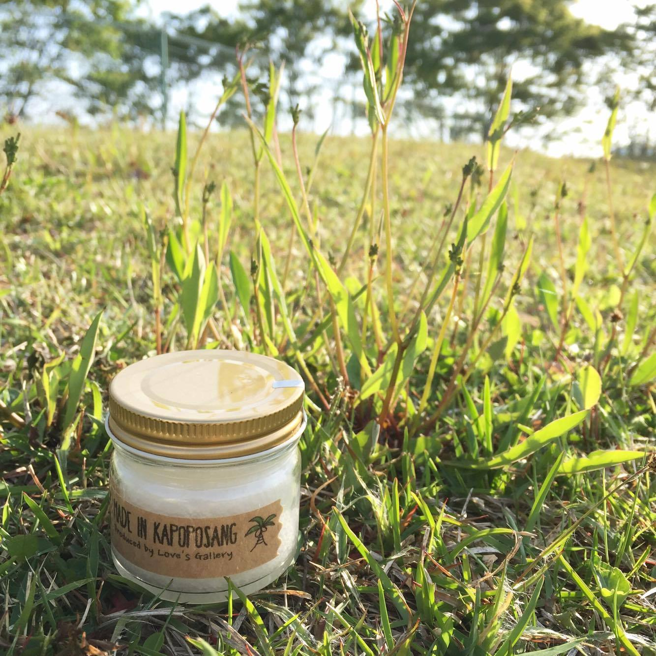 Fair Trade Virgin Coconut Oil mini jar 50g