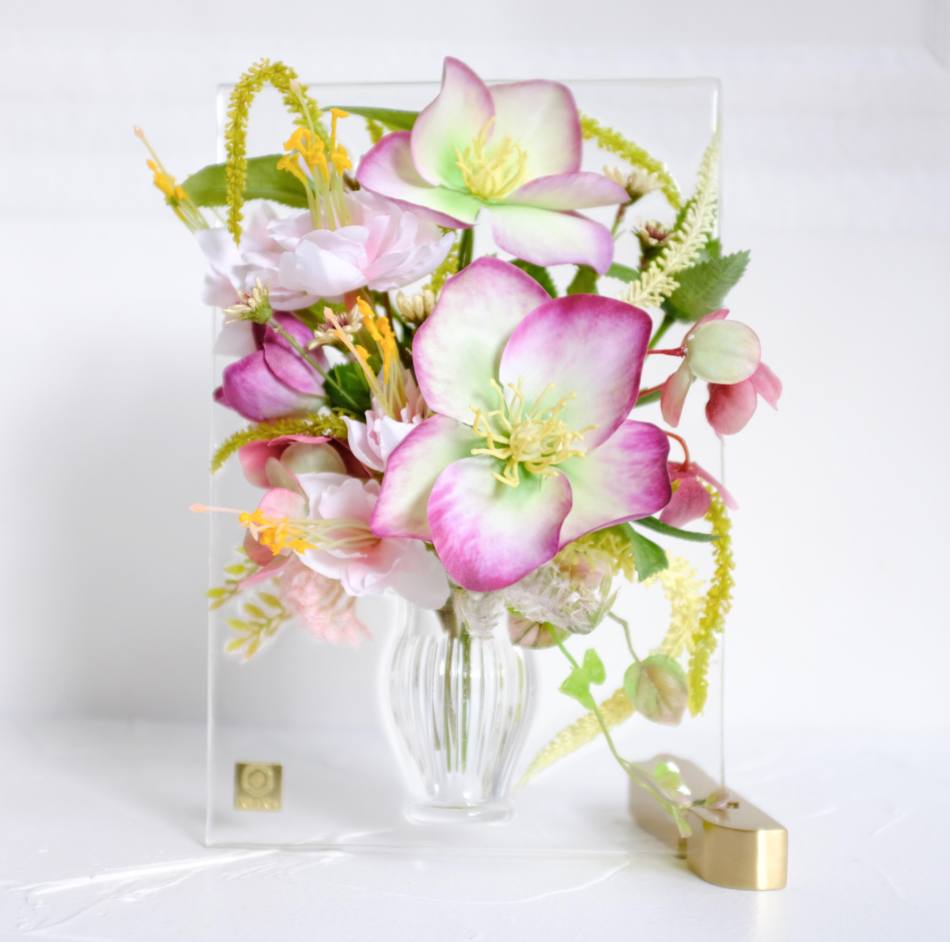 sumika S クリスマスローズ アンティーク花瓶シリーズ