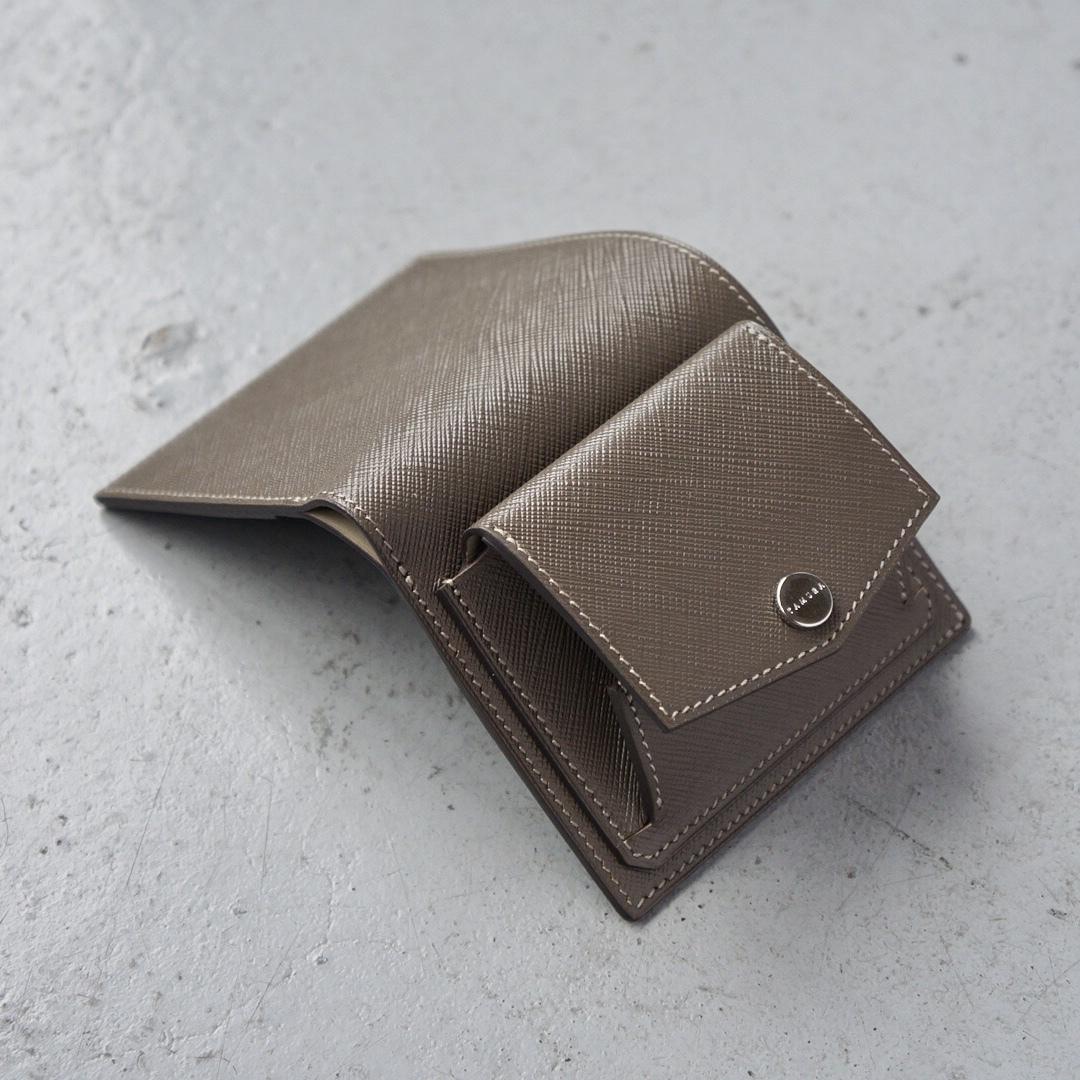 ミニ財布 <Shaula> マロン