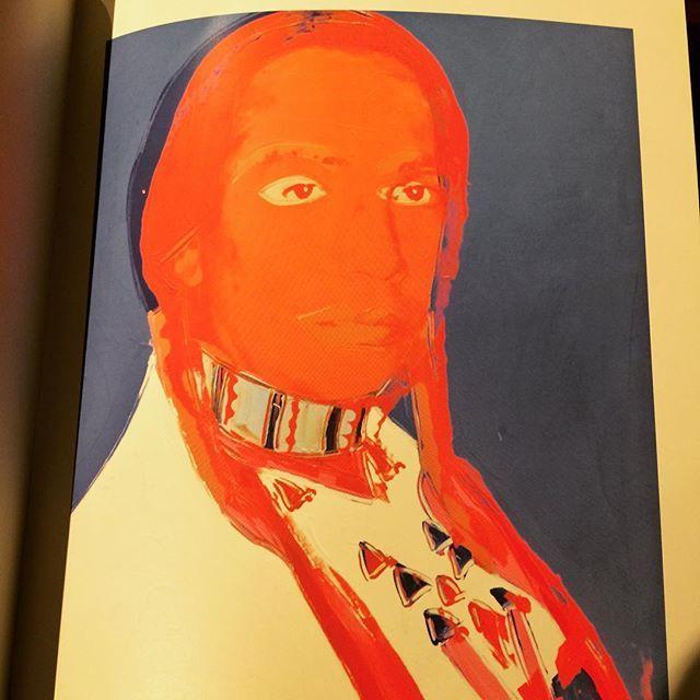 画集「The American Indian, Paintings and Drawings/Andy Warhol」 - 画像2