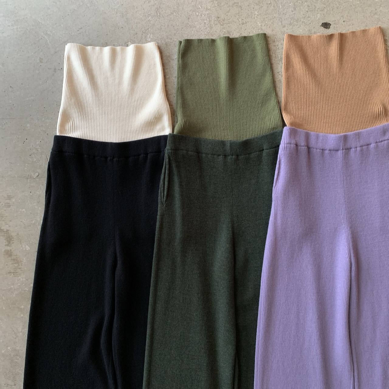 TAN - COL.COMBINATION PANTS